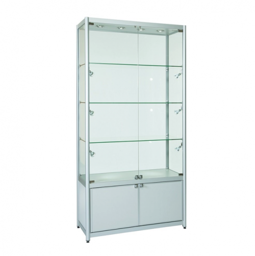 Glass Showcase Cabinet Hire