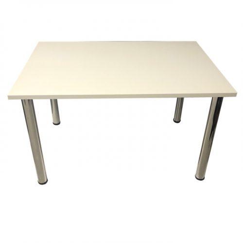 Large White Harley Table